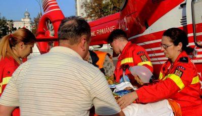 Video. Intervenția echipajului Smurd Iași pentru moldoveanca care a suferit în explozia din Fălești