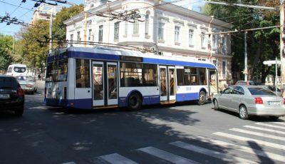 Atenție, călători! Rutele de troleibuz nr. 11 şi nr. 16 și-au reluat activitatea