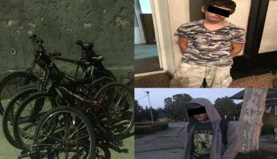 Doi minori au furat, în doar o săptămână, șapte biciclete din sectorul Buiucani