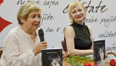 """Aseară, la Chișinău, a fost lansată cartea """"Reconstituiri cu Ileana Popovici"""""""
