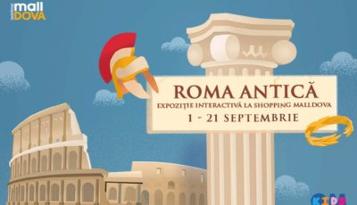 Află lucruri impresionante despre istoria Romei Antice, doar la Shopping MallDova!