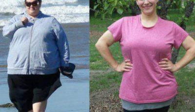 Această femeie a slăbit 87 de kilograme. Vezi cum a reușit