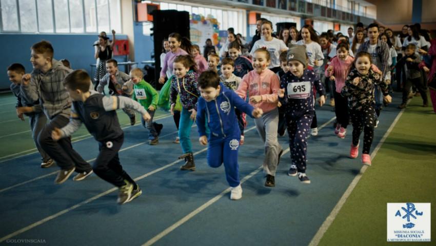 """Foto: Au mai rămas zile numărate până la """"Maratonul Copiilor"""""""