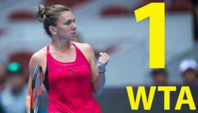 Simona Halep este noul lider mondial în tenis. Calificare entuziasmantă în finala de la Beijing