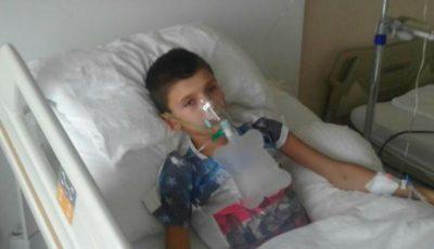 Celebrul olar Vasile Gonceari cere ajutor! Fiul meșterului, în vârstă 13 ani, se află în stare gravă