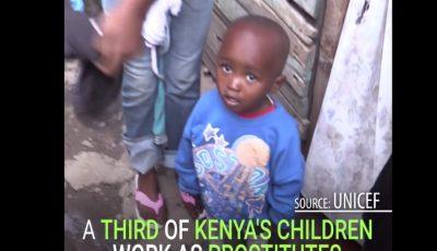 În Kenya sexul cu o minoră costă cât o masă de prânz. Video
