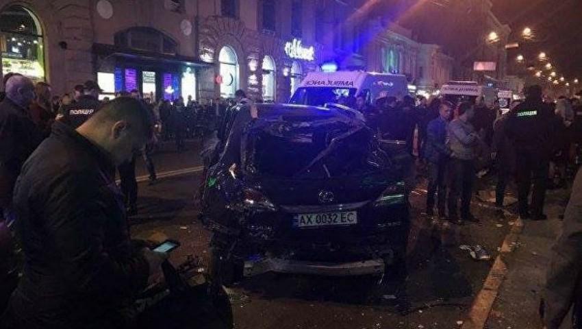 Foto: Fiica unui oligarh ucrainean a omorât cu mașina cinci oameni pe trecerea de pietoni