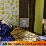 Foto: Protagonista celei de-a treia ediții a proiectului Serviciul de Slăbit Sănătos a fost vizitată de către Galina Tomaș. Vezi ce schimbări a constatat nutriționista