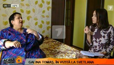 Protagonista celei de-a treia ediții a proiectului Serviciul de Slăbit Sănătos a fost vizitată de către Galina Tomaș. Vezi ce schimbări a constatat nutriționista