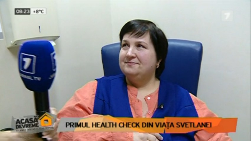 Svetlana Cveatcovscaia slăbește tot mai mult. La aproape o lună de proiect, protagonista SSS a fost supusă unui control medical complex