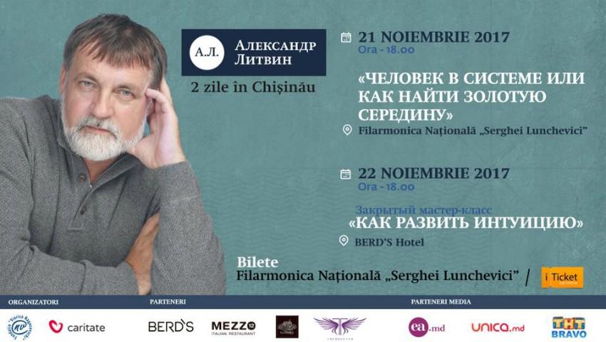 Foto: Alexandr Litvin vine, în noiembrie, la Chișinău