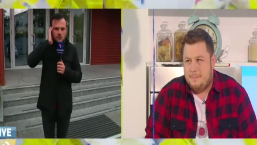Foto: Jurnalistul Dan Jelescu a fost eroul unei farse de proporții, în direct, la TV! Vezi cum l-au felicitat colegii de breaslă
