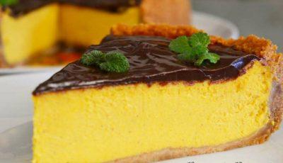 Cheesecake cu dovleac, un desert delicios bogat în vitamine