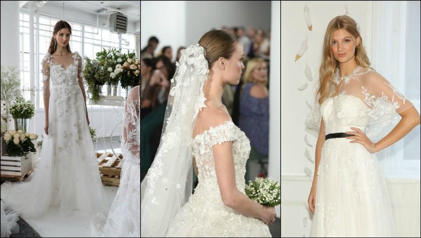 Foto: 6 tendințe pentru rochiile de mireasă din 2018
