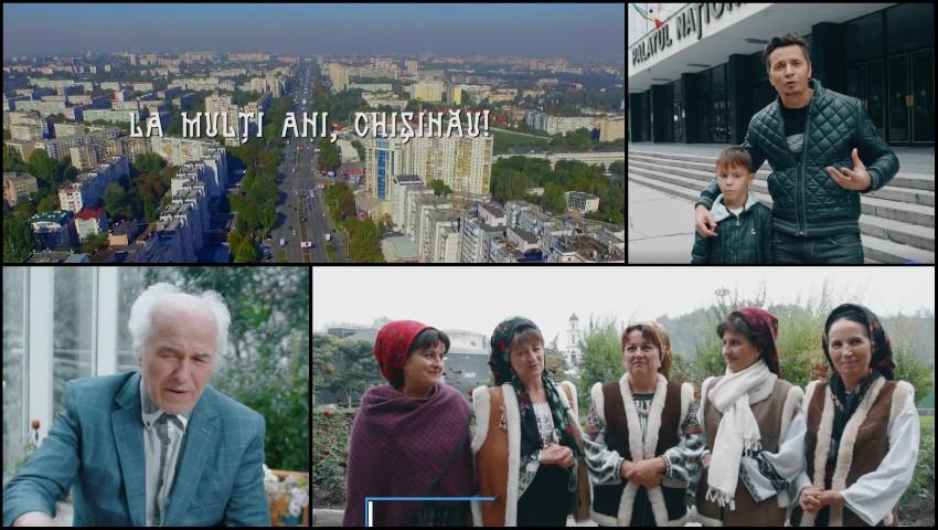 Foto: La mulți ani, Chișinău! Mesajul artiștilor de-acasă cu ocazia împlinirii celor 581 de ani. Video!