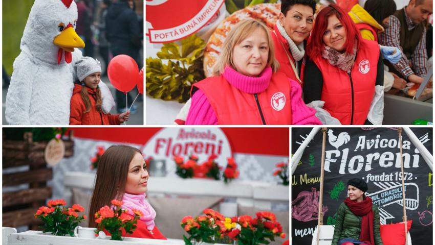 """Foto: Peste 2500 de persoane au gustat din produsele Companiei SA """"Floreni"""", de Ziua Orașului Chișinău"""