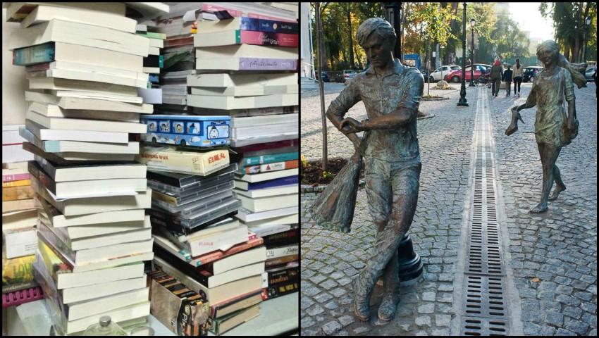 O mie de cărți vor fi împărțite gratuit pe Strada Pietonală
