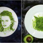 Foto: Impresionant! Un bărbat creează adevărate opere de artă din avocado. Foto