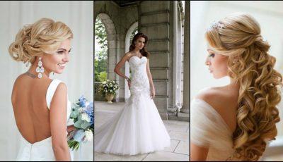 Coafuri de mireasă în funcție de modelul rochiei
