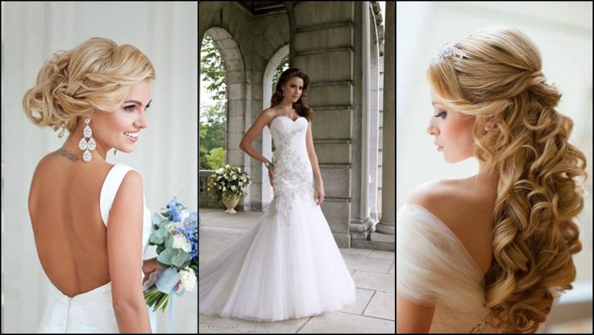 Foto: Coafuri de mireasă în funcție de modelul rochiei