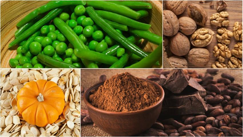 Foto: Alimente bogate în magneziu care înlătură oboseala