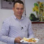 Foto: Pește la cuptor cu legume, de la Sergiu Bejenari
