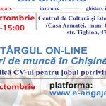 Foto: Pe 12 octombrie, vino la Târgul locurilor de muncă din Chișinău! Iată ce oferte te așteaptă