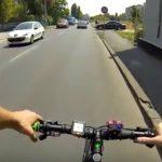 Foto: Un medic diagnosticat cu cancer străbate mii de kilometri cu bicicleta