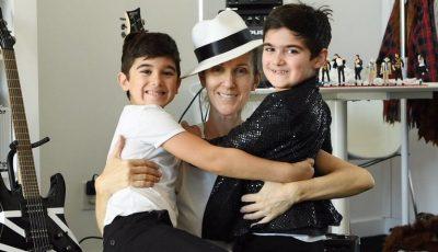 Gemenii lui Celine Dion au împlinit 7 ani: imagini de la ședința foto în stilul Michael Jackson