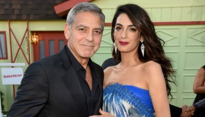 George Clooney și-a dus soția, dar și soacra, la premiera ultimului său film