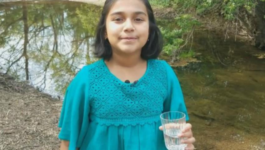 """Foto: O fetiță de doar 11 ani a devenit """"cel mai tânăr om de ştiinţă american"""". Iată ce a inventat"""