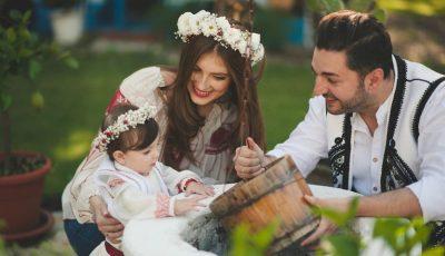 Fiica lui Adrian Ursu a împlinit 4 anișori. Vezi ce surpriză deosebită i-au făcut părinții