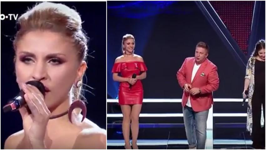 Doina Spătaru, prima moldoveancă salvată la Vocea României, merge mai departe în concurs!