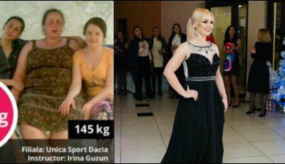 Transformare uimitoare! A slăbit 70 de kilograme cu Unica Sport și arată ca un fotomodel