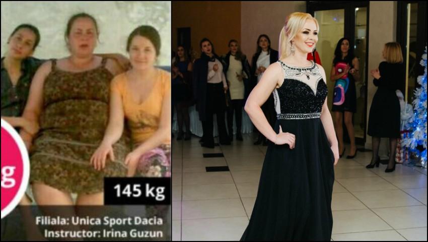 Foto: Transformare uimitoare! A slăbit 70 de kilograme cu Unica Sport și arată ca un fotomodel