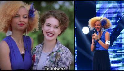 Olga Verbițchi și-a adus prietena din Italia la X Factor! Video