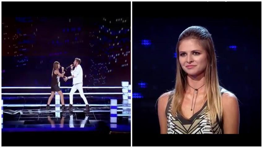 A fost spectacol, aseară, la Vocea României! O moldoveancă a câștigat primul duel