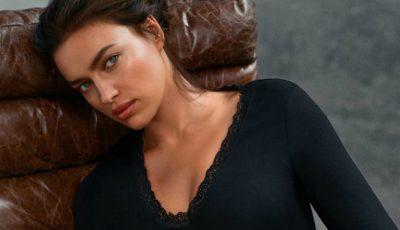 Irina Shayk a pozat în lenjerie intimă la 7 luni după ce a născut