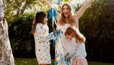 Jessica Alba a dezvăluit sexul celui de-al treilea copil