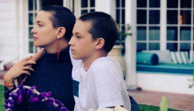 Kate Hudson s-a tuns la fel ca fiul ei. Care este motivul?