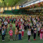 Foto: Peste 700 de copii au participat la Maratonul Copiilor 2017
