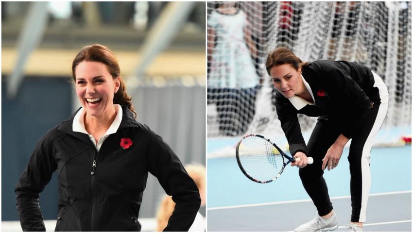 Foto: Kate Middleton și-a arătat burtica proeminentă la un eveniment de sport!
