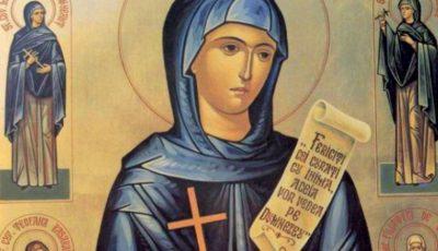 Tradiții de Sfânta Parascheva, ocrotitoarea Moldovei şi a Bucovinei