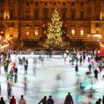 Foto: Pe strada 31 august va apărea un patinoar, în ajunul sărbătorilor de iarnă