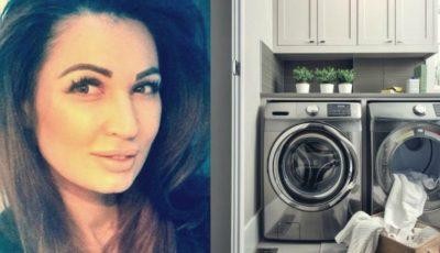 Nicoleta Luciu a pus aspirină în mașina de spălat. Rezultatul este uimitor