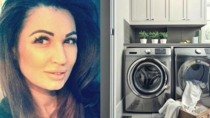Foto: Nicoleta Luciu a pus aspirină în mașina de spălat. Rezultatul este uimitor