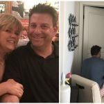 Foto: Povestea bărbatului care îşi veghează soţia bolnavă de cancer a cucerit internauții