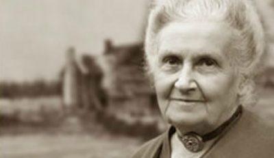 Cele 20 de sfaturi înțelepte ale renumitului pedagog Maria Montessori