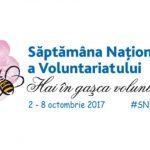 """Foto: Astăzi, se dă startul Săptămânei Naționale a Voluntariatului 2017, ediția a XI-a, """"Hai în gaşca voluntarilor!"""""""