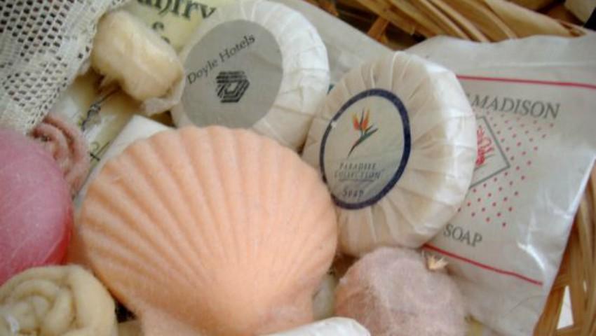 Foto: Resturile de săpun rămase în hoteluri sunt reciclate în produse noi de igienă personală